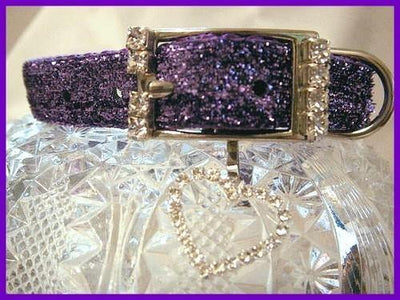 Amethyst Sparkler Collar - Posh Pet Glamour Boutique