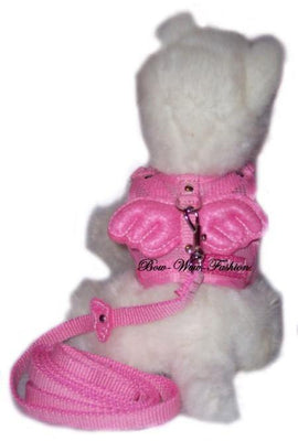 Angel Dog Harness Pink - Posh Pet Glamour Boutique