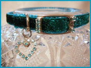 Aqua Sparkler Collar - Posh Pet Glamour Boutique