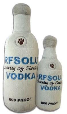 Arfsolut Vodka Plush Toy - Posh Pet Glamour Boutique