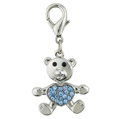 Aria Bear Collar Charms - Posh Pet Glamour Boutique