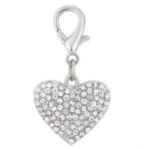 Aria Chloe Heart Charm - Posh Pet Glamour Boutique