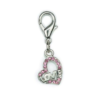 Aria Hearts of Love Charms - Posh Pet Glamour Boutique