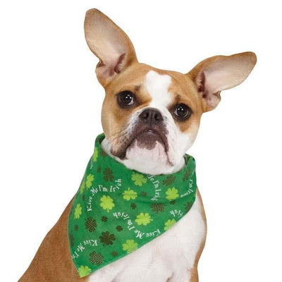Aria Irish Kiss Bandanas - Posh Pet Glamour Boutique