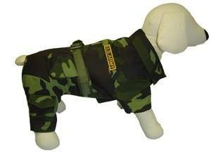 Army Costume - Posh Pet Glamour Boutique