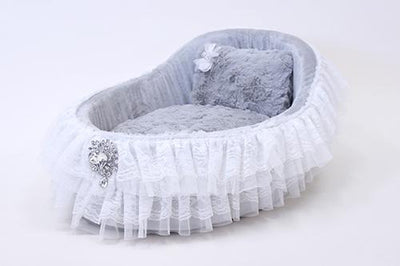 Baby Crib Sterling - Posh Pet Glamour Boutique