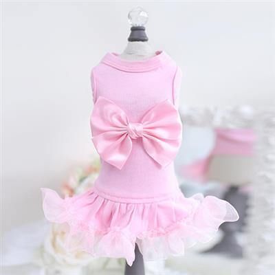 Ballerina Dress-Pink - Posh Pet Glamour Boutique
