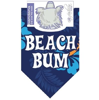 Beach Bum Blue - Posh Pet Glamour Boutique