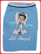 Betty Boop Lil Angel Tee - Posh Pet Glamour Boutique