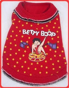 Betty Boop Reel Ruffle Dress - Posh Pet Glamour Boutique