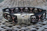 Billy Bones Collar with optional leash - Posh Pet Glamour Boutique