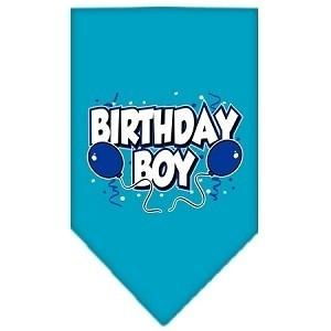Birthday Boy Screen Print Bandana - Posh Pet Glamour Boutique