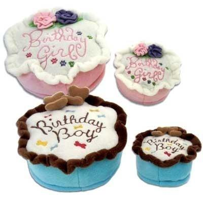 Birthday Cake Toy - Posh Pet Glamour Boutique