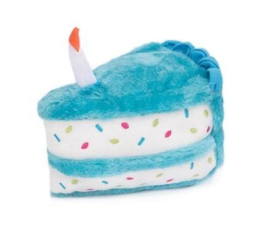 Birthday Cake Toy Blue - Posh Pet Glamour Boutique