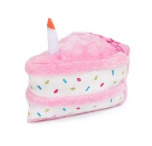 Birthday Cake Toy Pink - Posh Pet Glamour Boutique