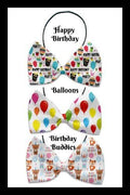 Birthday Collection Pet Bow Tie - Posh Pet Glamour Boutique