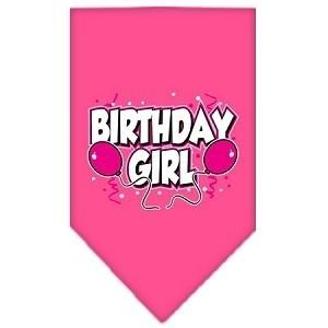 Birthday Girl Screen Print Bandana - Posh Pet Glamour Boutique
