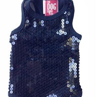 Black on the Rocks Tank - Posh Pet Glamour Boutique