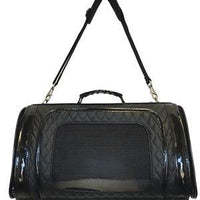 Black Quilted Kelle Bag - Posh Pet Glamour Boutique