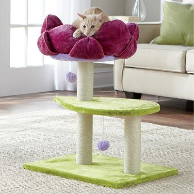 Blooming Flower Cat Tree - Posh Pet Glamour Boutique