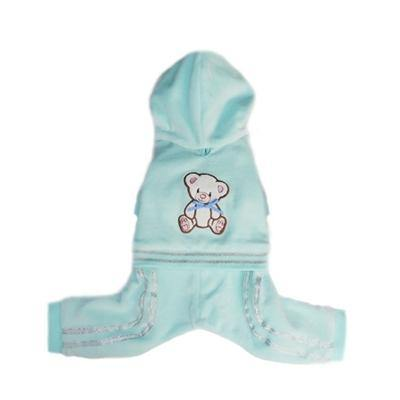 Blue Teddy Jumper - Posh Pet Glamour Boutique
