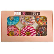 Box of Doughnuts Plush Toy - Posh Pet Glamour Boutique