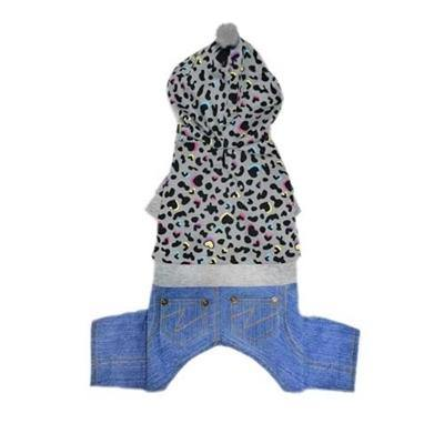 Brayden Denim Overalls - Posh Pet Glamour Boutique