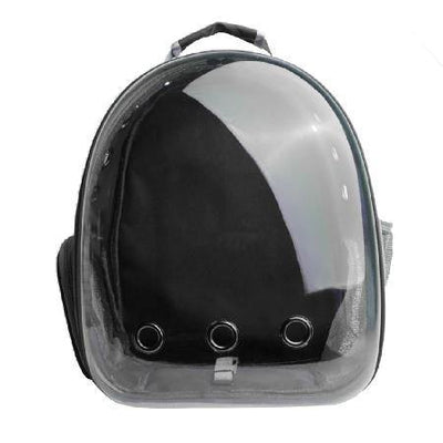 Bubble Pet Carrier- Black - Posh Pet Glamour Boutique