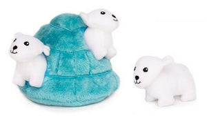 Burrow Polar Bear Igloo - Posh Pet Glamour Boutique