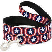 Captain America Leash - Posh Pet Glamour Boutique