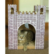 Castle Cat Scratcher House - Posh Pet Glamour Boutique