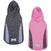 Casual Canine Trackster Sleeveless Hoodies - Posh Pet Glamour Boutique