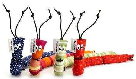Caterpillars Cat Toys - Posh Pet Glamour Boutique