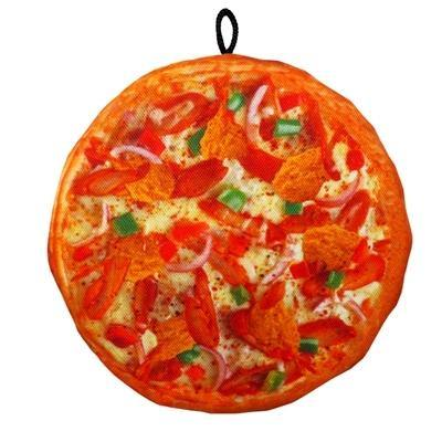 Chicago Style Pizza Unstuffed Toy- Large - Posh Pet Glamour Boutique