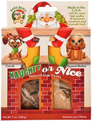 Christmas Bark Bars Naughty or Nice - Posh Pet Glamour Boutique