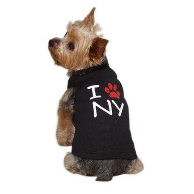 City Tank-I Love NY - Posh Pet Glamour Boutique