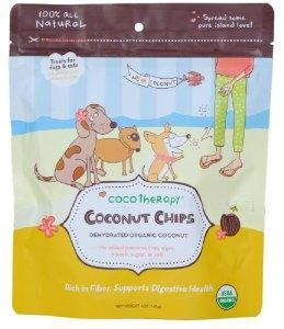 CocoTherapy Coconut Chips - Posh Pet Glamour Boutique