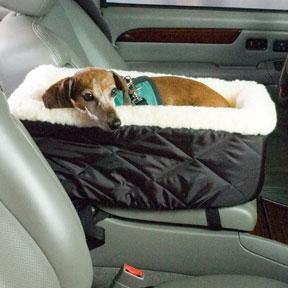 Console Lookout Car Seat - Posh Pet Glamour Boutique