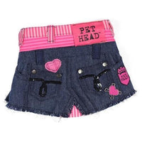 Cool Denim Skirt - Posh Pet Glamour Boutique