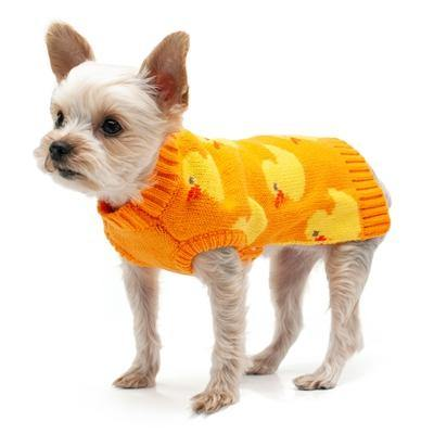 Cozy Duck Sweater - Posh Pet Glamour Boutique
