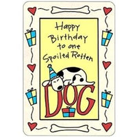 Crunch Card Birthday - Posh Pet Glamour Boutique
