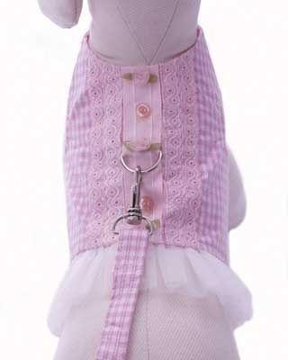 Delightful Tutu Harness - Posh Pet Glamour Boutique