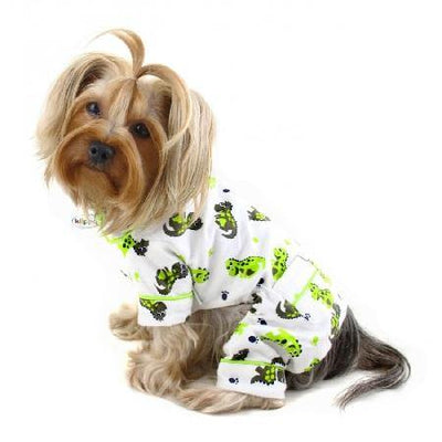 Dinosaur Pajamas - Posh Pet Glamour Boutique