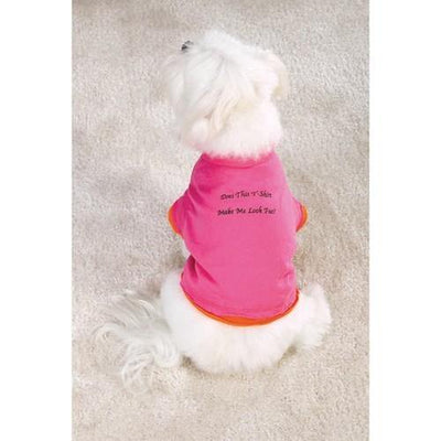 Does this t shirt make me look fat? - Posh Pet Glamour Boutique
