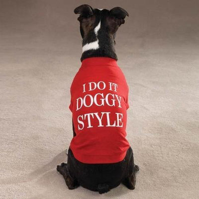 Doggy Style Tee - Posh Pet Glamour Boutique