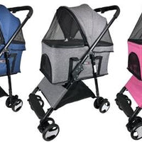 Dogline Executive Pet Stroller - Posh Pet Glamour Boutique