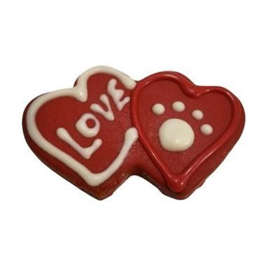 Double Hearts Cookies - Posh Pet Glamour Boutique