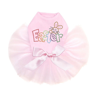 Easter with Bunny Tutu - Posh Pet Glamour Boutique