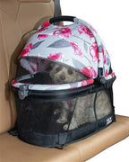 Floral VIEW 360 Pet Carrier/Car Seat - Posh Pet Glamour Boutique