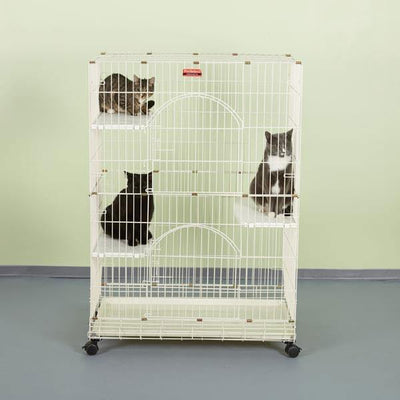 Foldable Cat Cage - Posh Pet Glamour Boutique